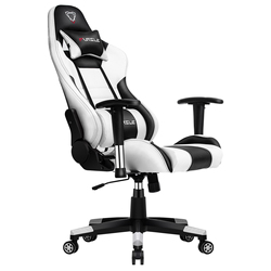 Furgle gaming chair white with ultra soft leather boss chair office chair furniture wcg game computer chair play free shipping