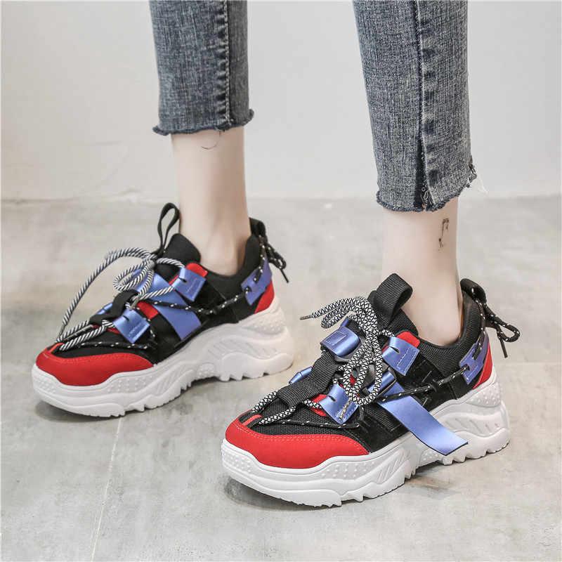 Bjakin High Heels Lady Running Shoes
