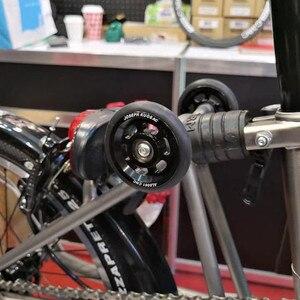 1 пара, супер легкий титановый винт для велосипеда brompton Joseph Kuosac easywheel, два варианта