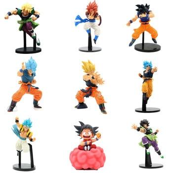 Dragon Ball Character statue Son Goku Gogeta Vegeta Super Saiya Goku Ultimate warrior Action Figure collection PVC Model toys цена 2017