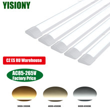 YISIONY 5 Pcs 2pcs 40W 30W LED Tube Light 120CM Ceiling Lights Wall Lamp Tube LED Wall Bar Lamp Indoor Light For Replace T5 T8