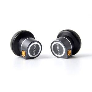 Image 3 - Smabat M1 Pro Earbud Earbuds HIFI Metal CNC Earphone 14.2mm Dynamic MMCX Maze Design BK M1Pro MX980 ST 10 ST10 PK1 PK2 PK3 SR2