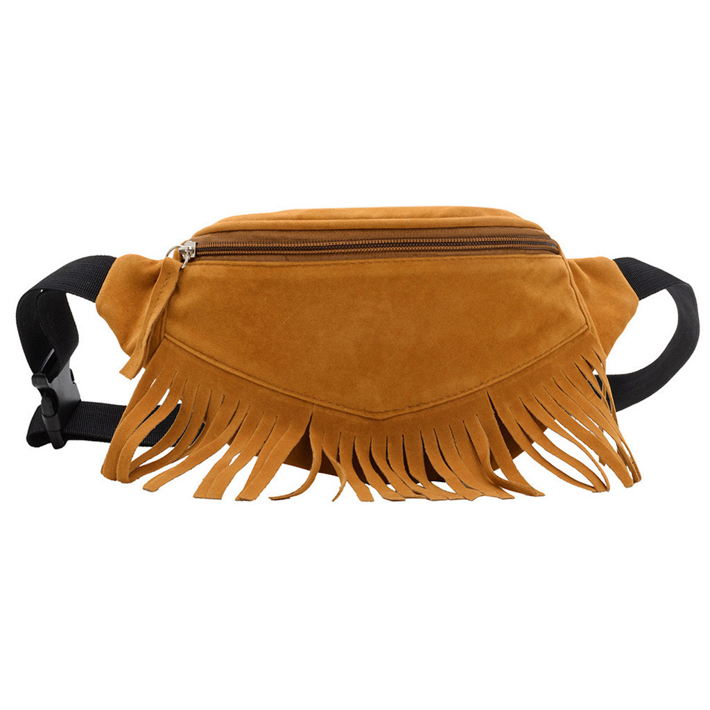 Waist-Bag Crossbody-Bag Messenger-Bag Zipper Solid-Color Casual Fashion -20 Outdoor Unisex