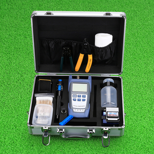 Image 2 - KELUSHI FTTH Fiber Optic Tool Kit with Fibra Optica Power Meter and Visual Fault Locator and Cable Cutter Stripper FC 6S Cleaver