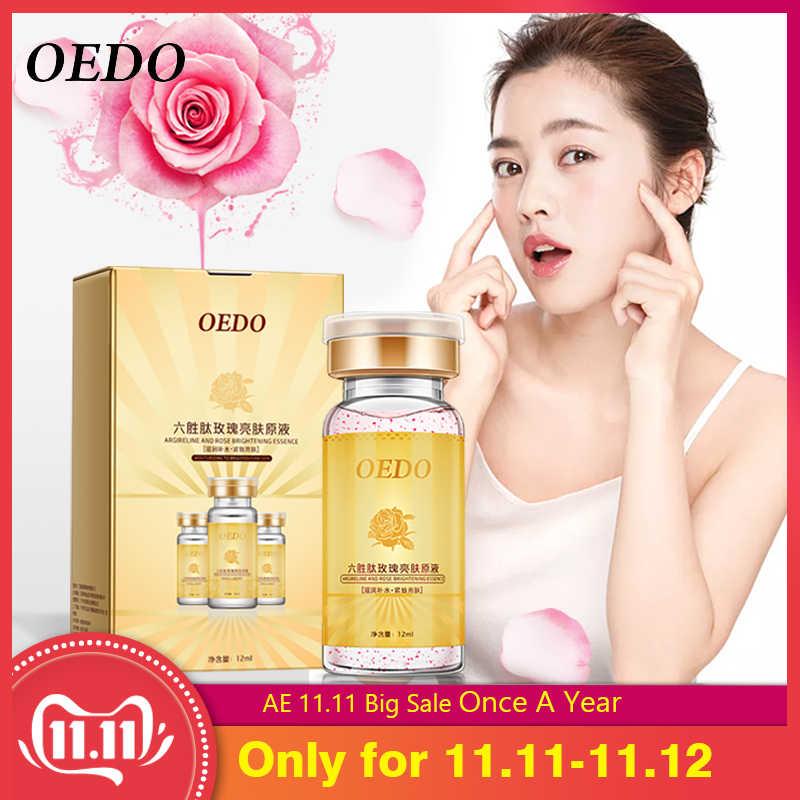 Rose Emulsie Bevatten Argireline Serum Anti Aging Huidverzorging Whitening Hydraterende Gezicht Essentie Fleuren Huid Reparatie Lotion