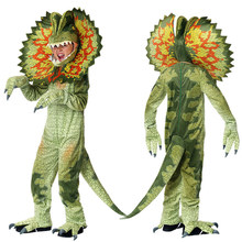 Triceratops Costume Kids Boys Girls Cosplay Dinosaur Jumpsuit Halloween Christmas Party Costumes for Children Dress Up C85M70