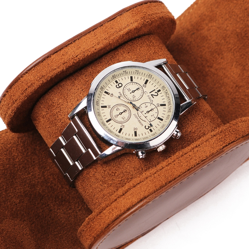 de luxo viagem única caixa de relógio