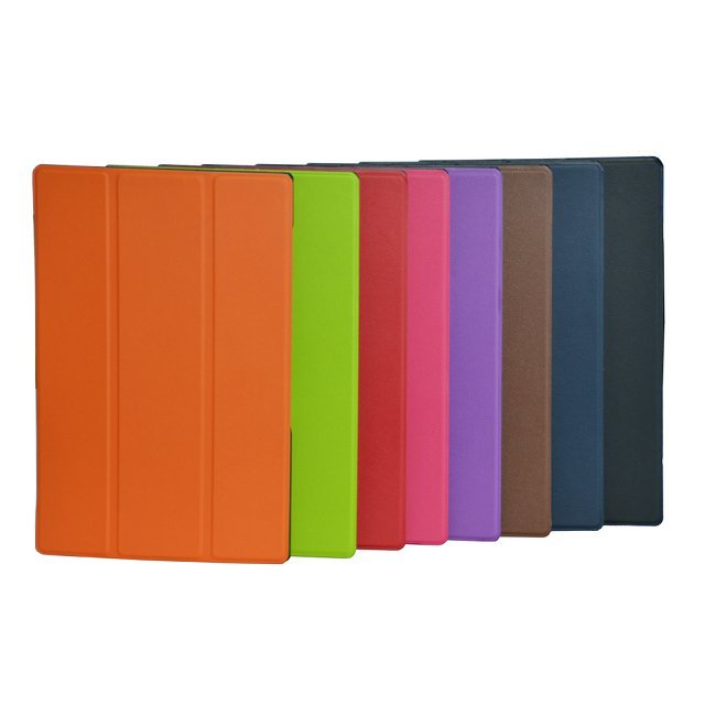 With magent Stand Flip Folio Leather Protective Cover <font><b>Case</b></font> For <font><b>SONY</b></font> <font><b>Xperia</b></font> <font><b>Z2</b></font> <font><b>tablet</b></font> 10.1 <font><b>Case</b></font> for <font><b>Sony</b></font> <font><b>Xperia</b></font> <font><b>Z2</b></font> <font><b>tablet</b></font> <font><b>Case</b></font> image