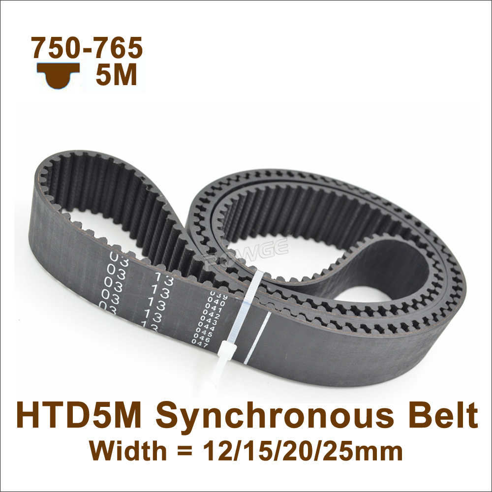 244L Rubber Pulley Timing Belt Close Loop Synchronous Timing Belt 20//25mm Width