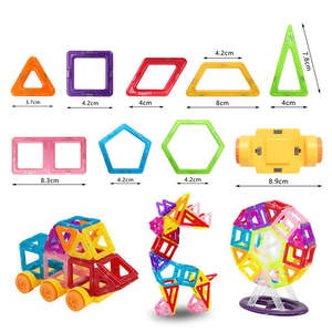 Magnetic Blocks Building-Toy Constructor-Set Children Mylitdear Mini Model for 1pc