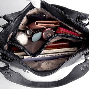 Image 5 - 2019 peau de mouton en cuir de luxe sacs à main femmes sacs concepteur dames main bandoulière sacs pour femmes fourre tout Sac à bandoulière pour filles Sac