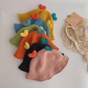 2020 Baby Hat New Baby Girl Boy Winter Autumn Warm Hat Children Soft Cotton Knitted Cap Kids Casual Lovly Hat Baby Accessories