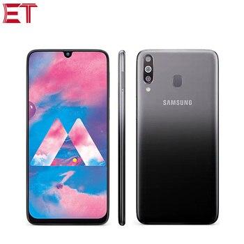 Перейти на Алиэкспресс и купить Абсолютно Новый Samsung Galaxy M30 M305F-DS 4 Гб ОЗУ 64 Гб ПЗУ мобильный телефон 6,4 дюйма Восьмиядерный Тройная задняя камера 13 МП + 5 Мп + 5 Мп Android телефон
