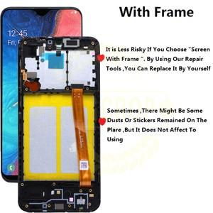 Image 2 - لسامسونج غالاكسي A20e A202 A202F A202DS عرض مجموعة المحولات الرقمية لشاشة تعمل بلمس A202 A202F/DS لسامسونج A20e LCD مع الإطار