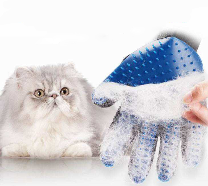 Cat And Dog Beauty Cleaning Brush Gloves Cat Toy Cat Hair Removal Gloves Dog Cleaning Cat Comfortable Hair Removal Brush