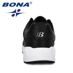 Image 3 - BONA החדש מעצב פרה פיצול ריצה נעלי גברים סניקרס להקפיץ חיצוני ספורט נעלי מקצועי אימון נעלי גבר אופנתי