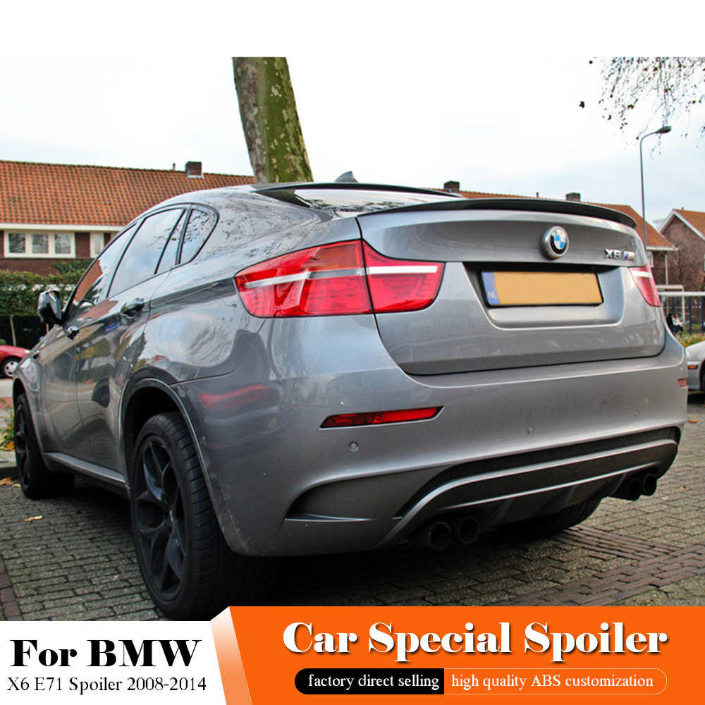 Stainless Rear Bumper Protector Scuff Plate Cover 1pcs for BMW X6 e71 2008-2014