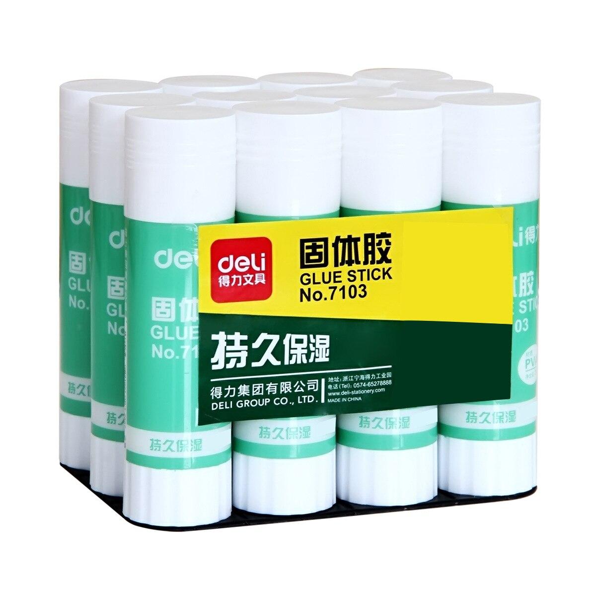 Wholesale Deli 7103 Solid Glue 36G Handmade Glue Solid Glue Stick Large Size