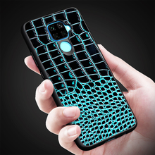 Crocodile Pattern Genuine Leather Back Cover Phone Case For Samsung Galaxy J6 Plus J4 A6S A9 A7 J8 2018 Mobile Shell