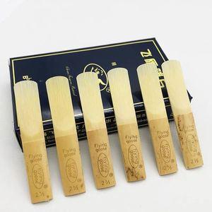 Image 2 - 10 шт Bb трости для кларнета Шанхай FlyingGoose Strength 2,0/2,5/3,0 для опции классический/популярный