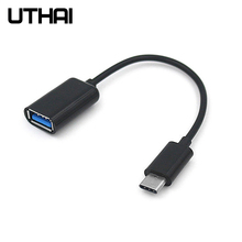 Otg-Cable Usb-Adapter Macbook Type-C Usb2.0-Card-Reader To UTHAI for Pro J11