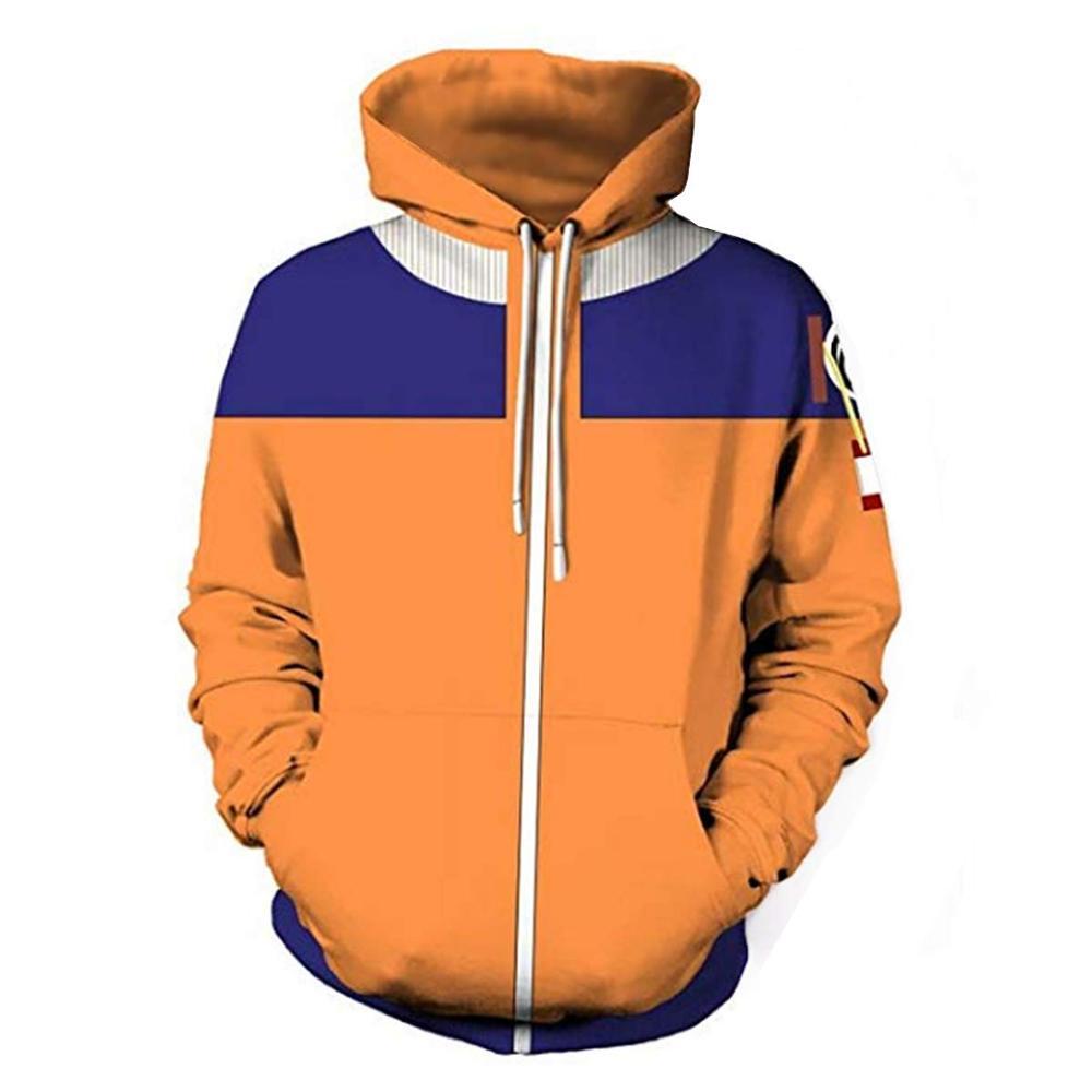 Uzumaki Naruto Hoodies 3D Sweatshirts Harajuku Men Women Anime 3D Hooded Outwear Casual Pullovers Hoody Autumn Coat Plus Size