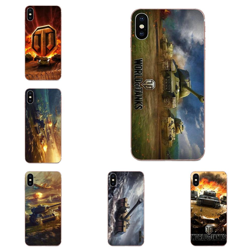 For Galaxy J1 J2 J3 J330 J4 J5 J6 J7 J730 J8 2015 2016 2017 2018 mini Pro Soft Print Capa World Of Tanks Game Wot Art Logo image