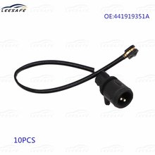 10 шт датчик износа тормозной колодки 441919351a для audi 100