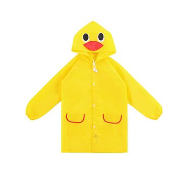 Śliczny dziecięcy płaszcz przeciwdeszczowy koreański dziecięcy sprzęt przeciwdeszczowy Poncho dziecięce artykuły gospodarstwa domowego plac zabaw tanie i dobre opinie AOZBZ waterproof polyester
