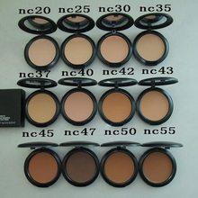 POUDRE DE maquillage, 12 couleurs, FOND DE TEINT, FOND DE TEINT, mode, 2 pièces/lot, 15G, 2020