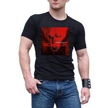 Männer der Eisbrecher Schock Schwarz Baumwolle T ShirtTee
