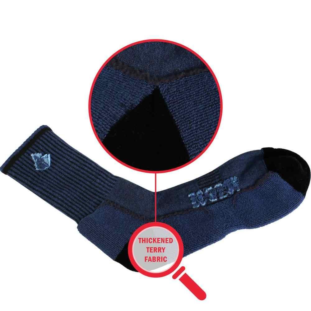 YUEDGE 브랜드 남자 양말 고품질 성인 따뜻한 코튼 쿠션 통기성 운동 스포츠 러닝 하이킹 크루 드레스 양말