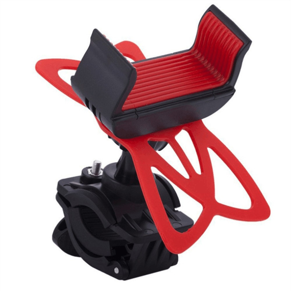 1pc Baby Stroller Accessories Cell Phone Holder Adjustable Mobile Phone Stander Bracket Buggy Accessories Red Black