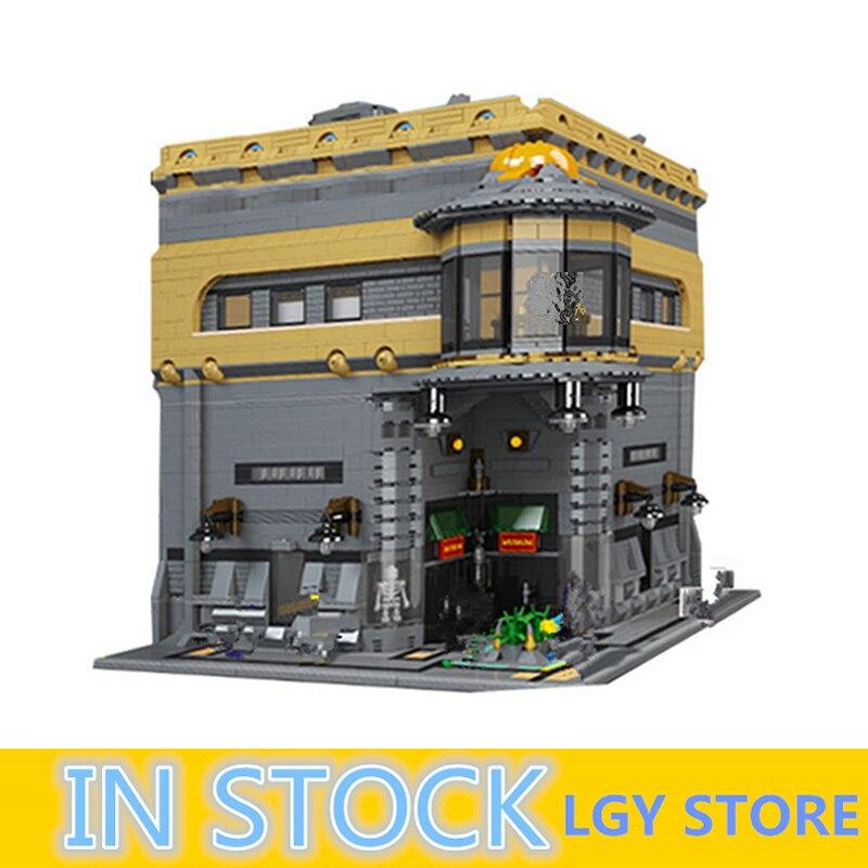 LP 15015 5003 pièces rue de la ville le musée des dinosaures modèle Kit de construction blocs jouets éducatifs pour enfants cadeaux d'anniversaire