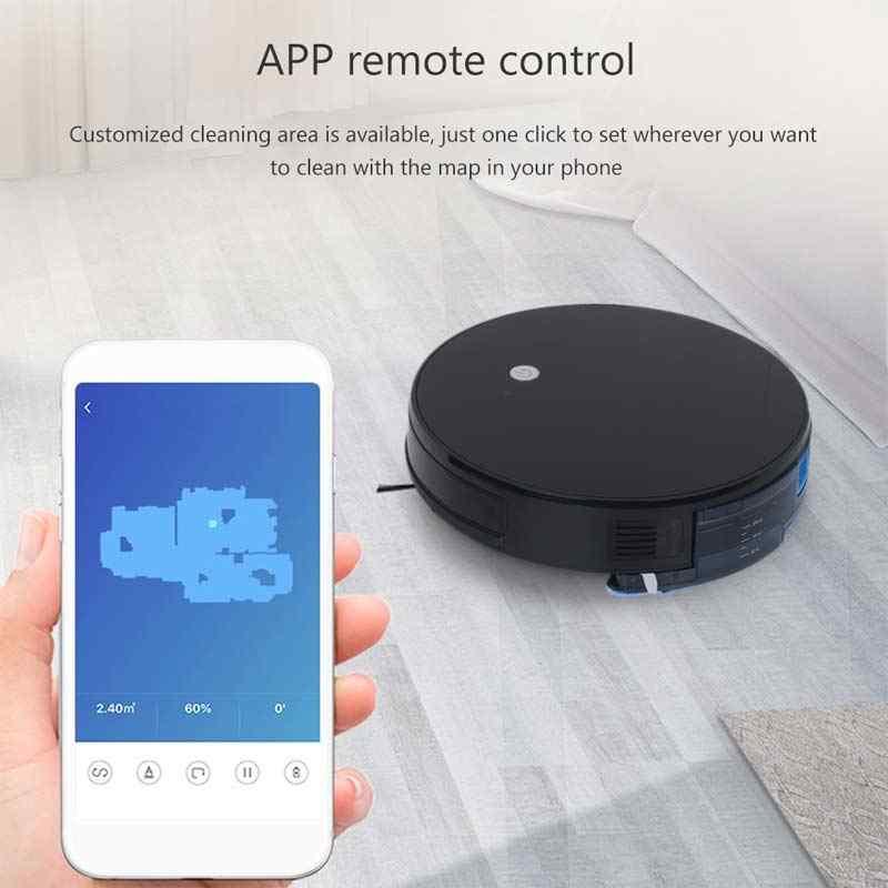Imass Smart Robot Vacuum Cleaner Mop 1500Pa Hisap Diri Pengisian APP Remote Control Robot Vacuum Cleaner Bekerja dengan alexa