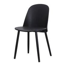 Modern Fashion Design Plastic Gentleman Chair Chair Dining Room Modern Restaurant Furniture Conference Office Coffee Kitchen