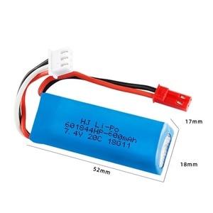 Image 3 - Оригинальный 7,4 V 450mAh 20C Lipo аккумулятор для WLtoys K969 K979 K989 K999 P929 P939 RC автозапчасти 2s 7,4 v батарея 5 шт./лот