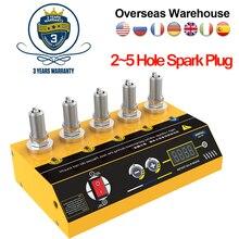 Original AUTOOL Car Spark Plug Tester Ignition Testers 220V 110V Automotive Diagnostic Tool 2~5 Hole Spark Plug Analyzer