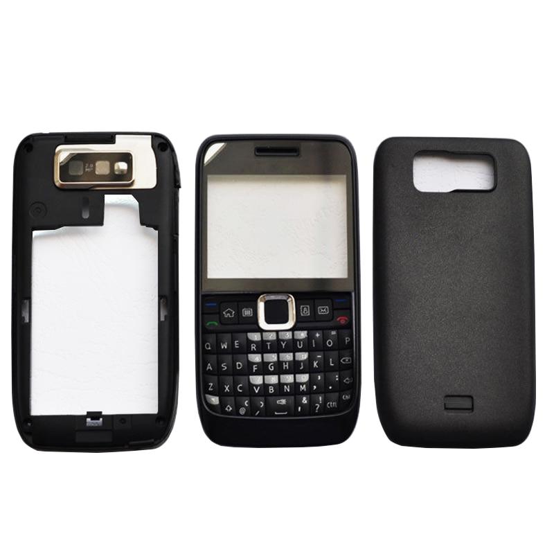 ZUGZUC New Plastic Full Housing For Nokia E63 Full Complete Housing Back Cover+Middle Frame+Front Frame+Keyboard+Logo