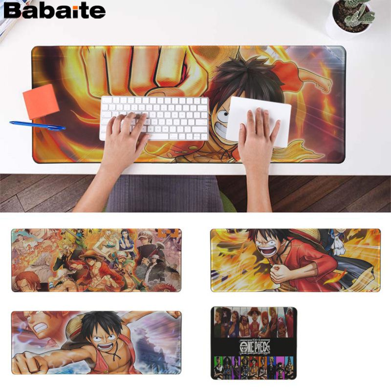 Babaite New Arrivals <font><b>One</b></font> <font><b>Piece</b></font> Customized MousePads Computer Laptop Anime <font><b>Mouse</b></font> Mat Rubber PC Computer Gaming mousepad image