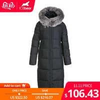 ICEbear 2019 nuovo inverno del cotone delle donne di modo del vestito caldo delle donne giacca con cappuccio delle donne di marca di abbigliamento GWD19160I