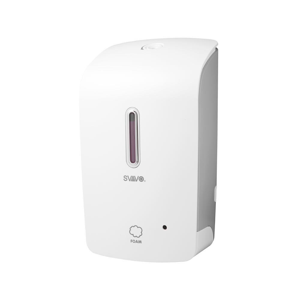 SVAVO Wall Automatic Foaming Soap Dispenser Hand Sanitizer Commercial Foaming Liquid Soap Dispenser for Bathroom Kitchen