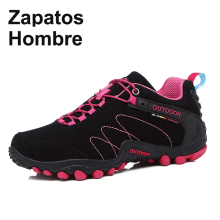 Waterproof Shoes Trekking-Boot Sport-Sneakers Women Climbing Spring Wear-Resisting