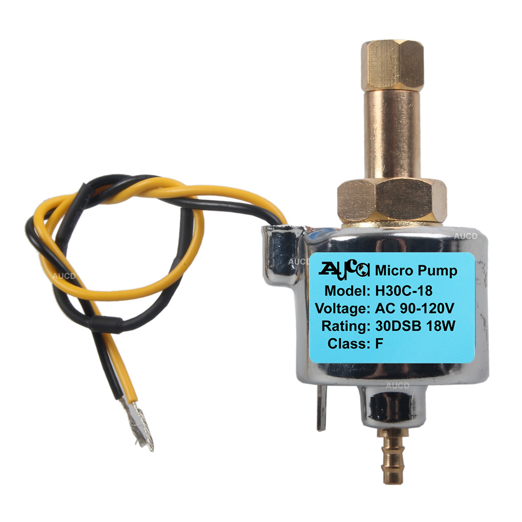 AUCD 110-220V 18W 30DCB 400W Fog Machine Oil Pump Smoke Steam Iron Fogger Beauty Apparatus Water Aspirator Equipment Part H30-18