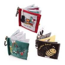 Livre de queue danimaux, livres pour nouveau nés, jouets, dessins animés, livre déducation précoce, jouet pour poussette, livre en tissu pour bébés, nouveauté