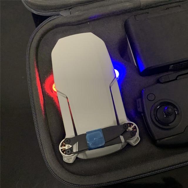 Luz de navegação da lâmpada do sinal do vôo da noite para dji mavic mini drone acessórios mini led flash luzes kit