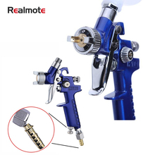 Realmote 0.8MM/1.0MMNozzle Mini Paint Spray Gun HVLP For Painting Car High Atomization H-2000 Airbrush Aerograph Pneumatic Tool