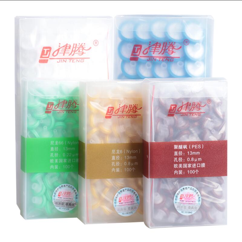 Disposable Syringe Filter Nylon/Organic /PTFE/PES 13MM/25MM Micron Microporous Phase Needle Filtration Needle Filter