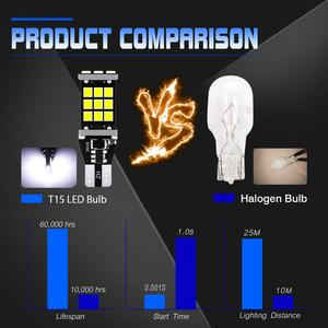 Image 5 - 2x T16 T15 W16W LED Bulbs 2835 SMD 921 912 Car Backup Reverse Lights for Hyundai Santa Fe ix35 ix20 ix55 Matrix Tucson Veloster