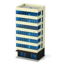N בקנה מידה Outland מודלים צבעוני מודרני עיר לבן בניין גרנד דירה
